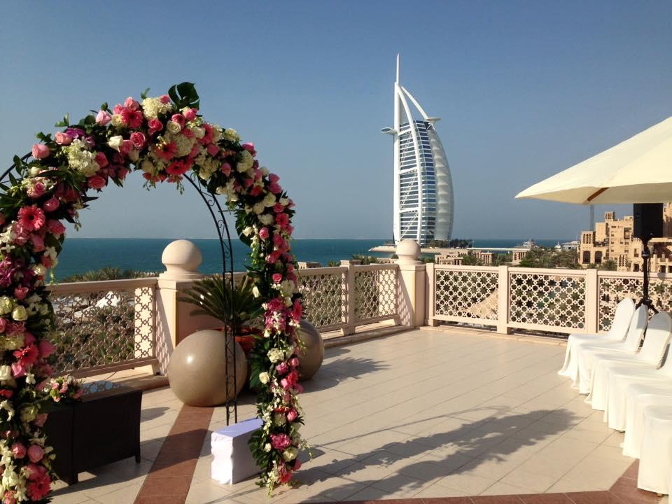 burj al arab dubai destination wedding