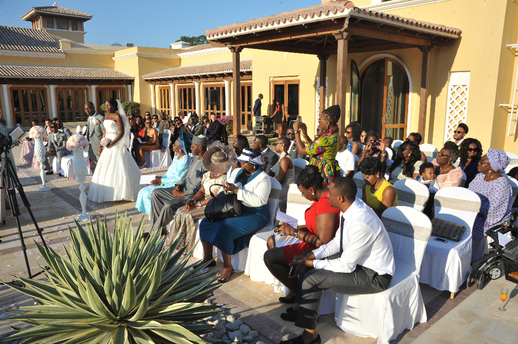 dubai wedding nigerian mr mrs love