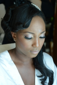 bride make up wedding dubai nigerian