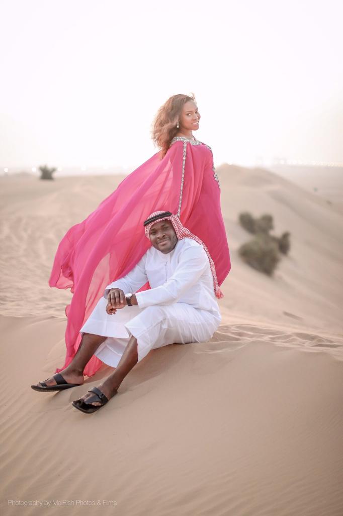 desert engaged dubai love