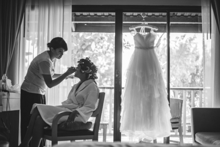 wedding dress make up thailand wedding