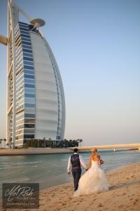burj al arab love wedding dubai