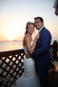 mr mrs sunset wedding dubai