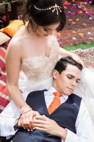 mr mrs wedding dress