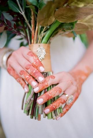 henna ring wedding