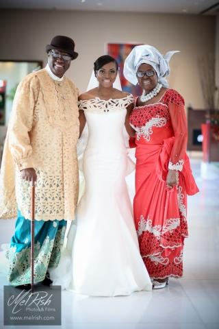 Father Bride Mother Nigerian Wedding