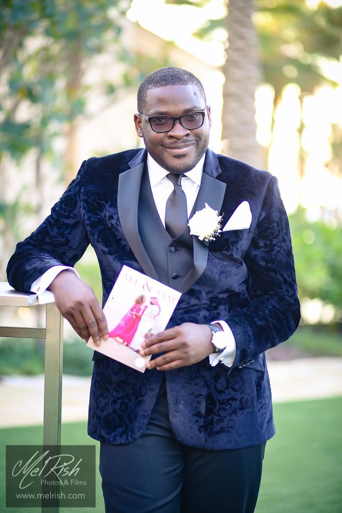 groom nigerian wedding dubai four seasons