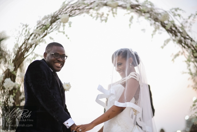 kiss wedding groom bride wedding nigerian i do