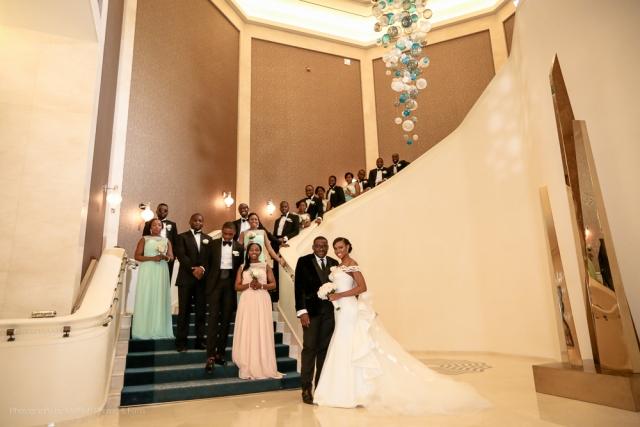 bridal party wedding nigerian dubai four seasons planner