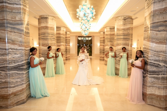 bridesmaids wedding dubai photography four seasons planner
