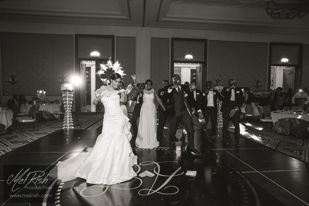 group dance bridal party nigerian wedding dubai
